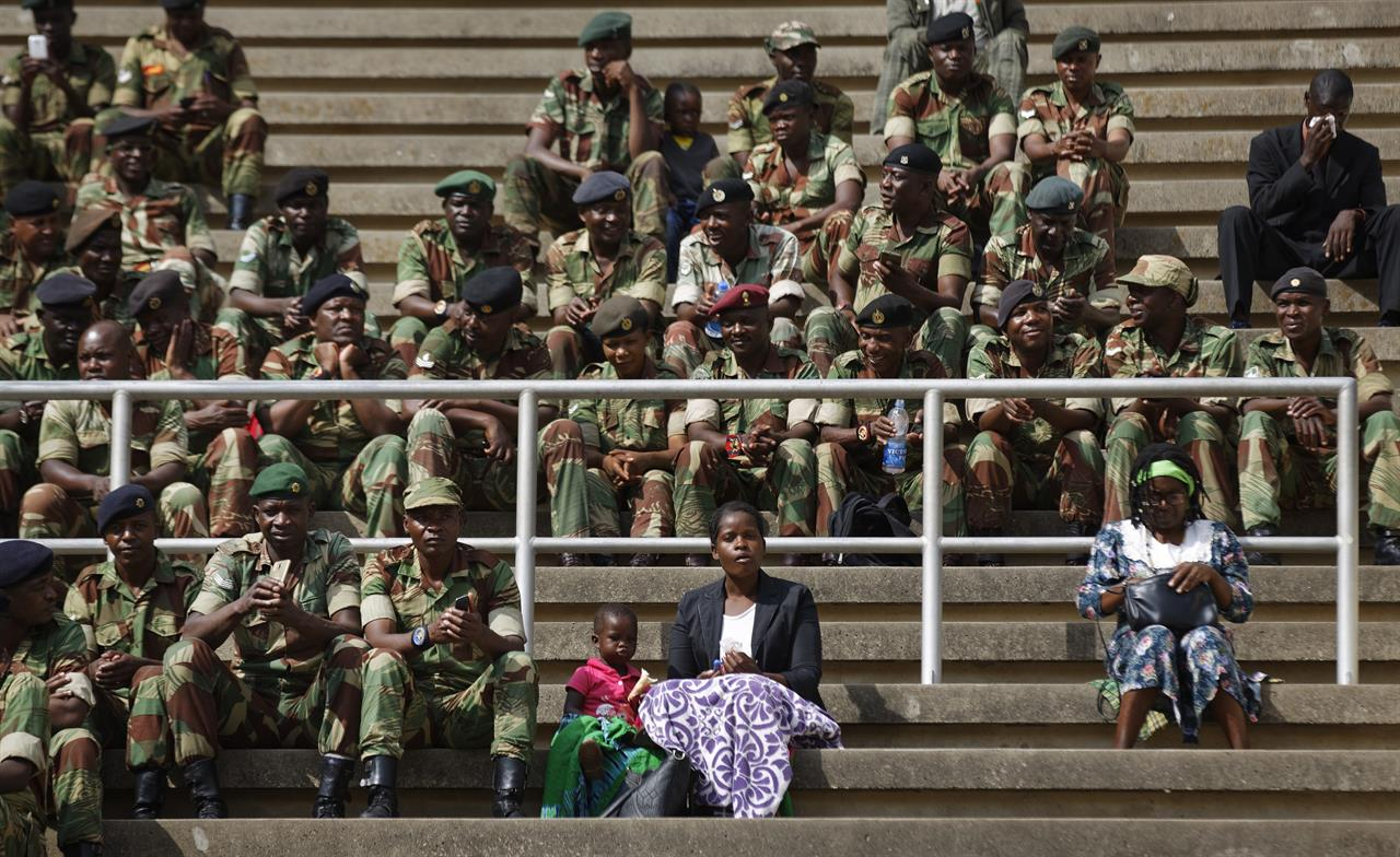 We dare not squander the moment:' Zimbabwe's new leader