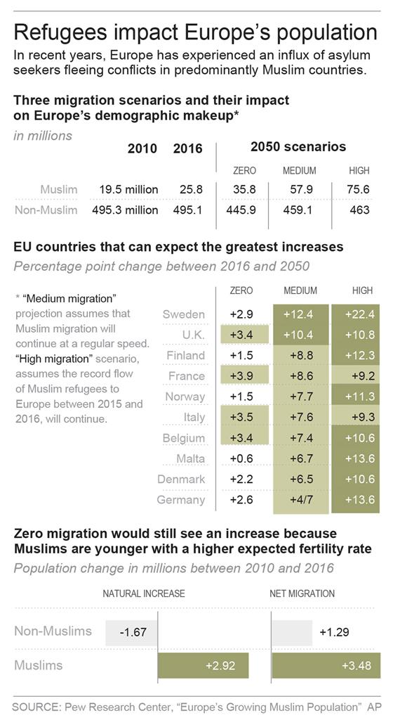 analysis of the demographics in europe Investigating the presence of intra-eu brain drain and gain ideally requires such  a fine-grained analysis of the socio-demographic profiles of intra-eu immigrants .