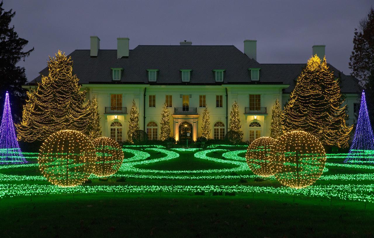 Trees, lights, holiday magic: Christmas