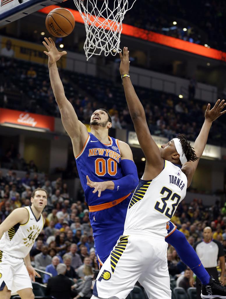 af441672ea4 Thaddeus Young scored 20 to help Pacers rout Knicks 115-97 | AM 970 ...