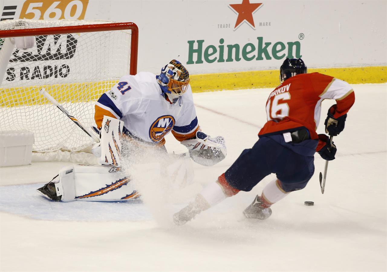 Barzal Scores Shootout Winner Islanders Edge Panthers 5 4