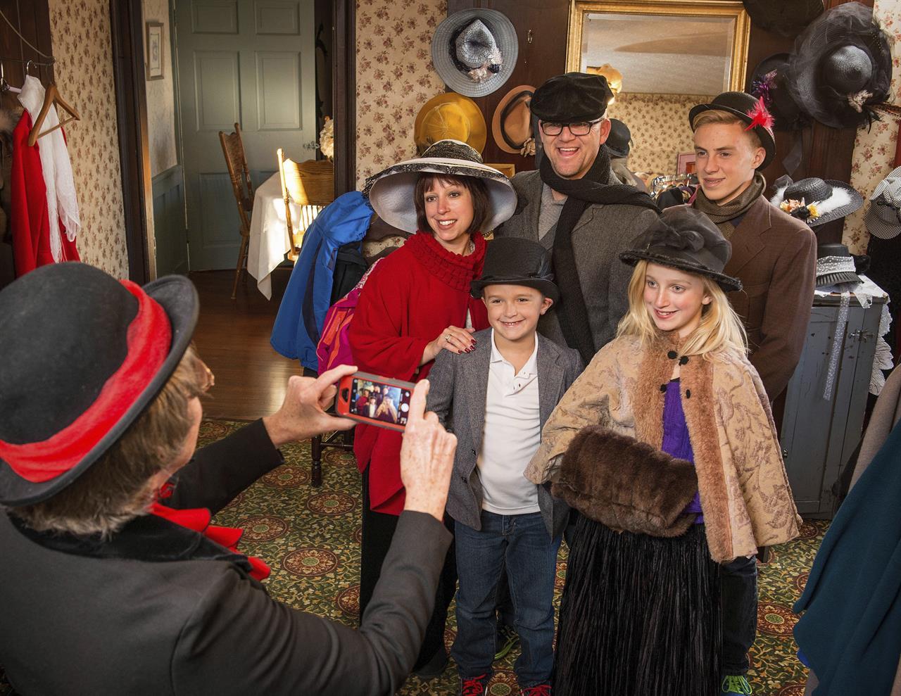 christmas in ohio nutcrackers victorian village - Christmas In Houston 2015
