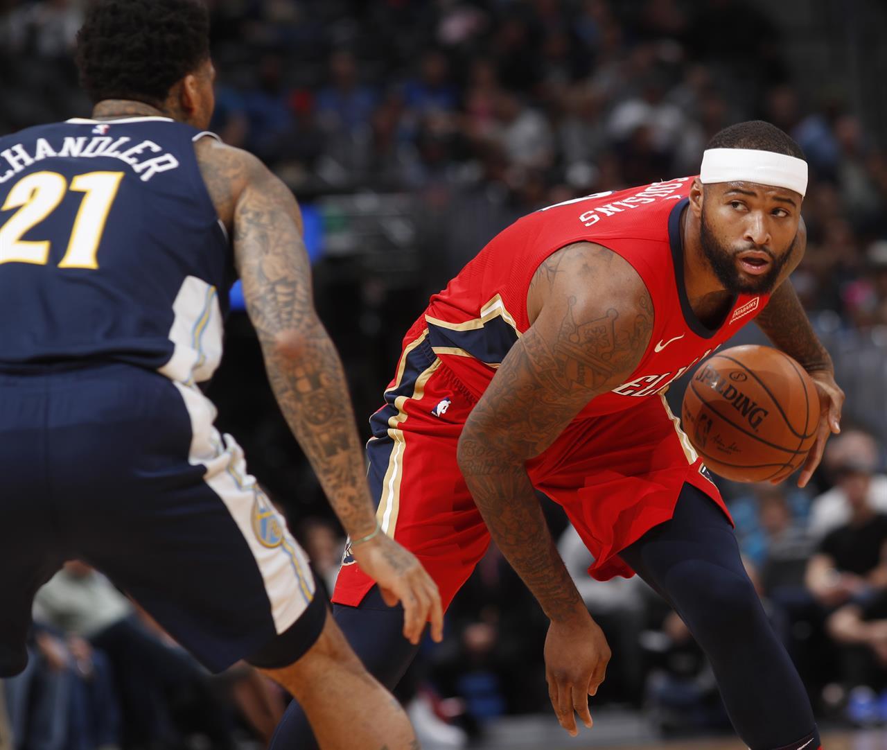 Barton Leads Nuggets Past Pelicans 117-111 In OT