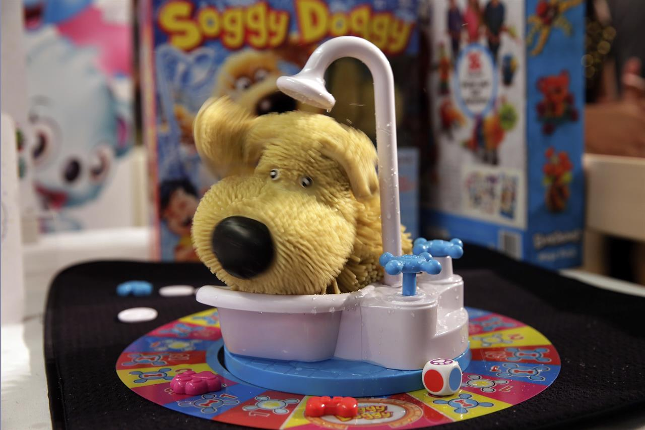 Board Games Get Messy With Squirting Toilets Soggy Dogs