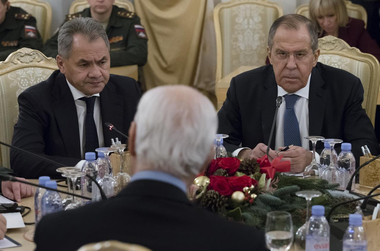 Russian Parliament Ratifies Naval Base Agreement With Syria Am