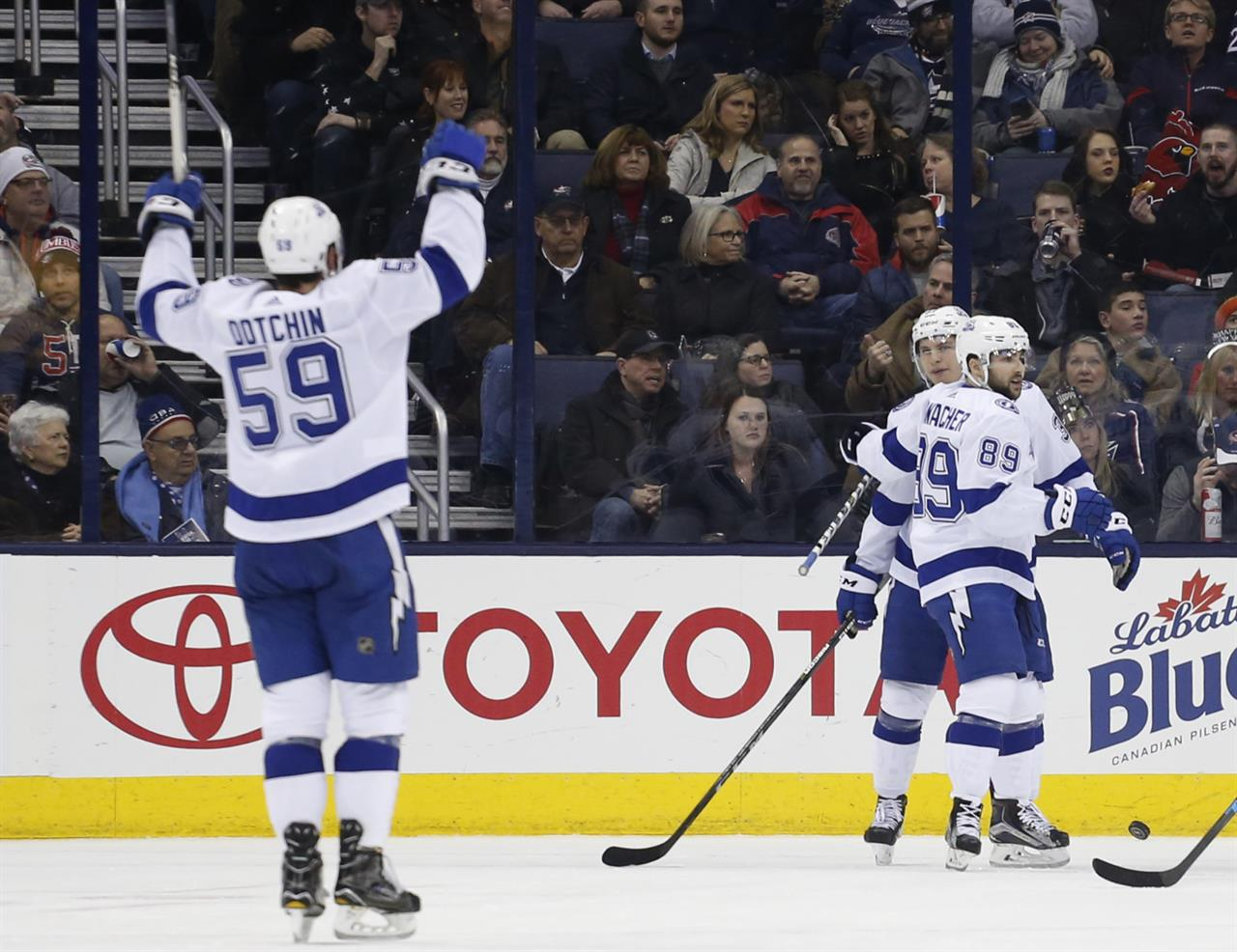 Denver To Columbus Ohio: Johnson Scores Twice In Lightning's 5-0 Rout Of Columbus
