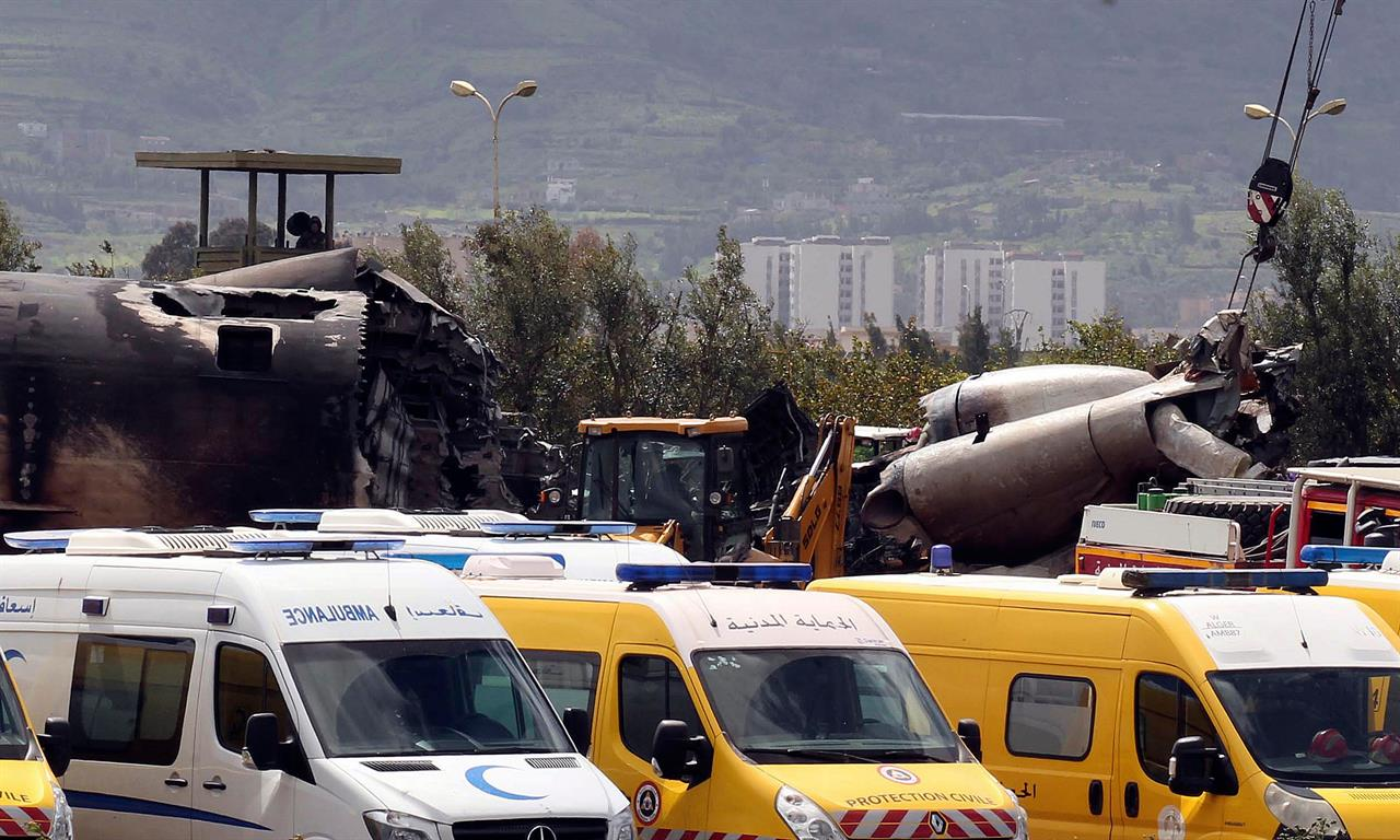 The Latest: Military plane crashes in Algeria, 257 dead   The ANSWER
