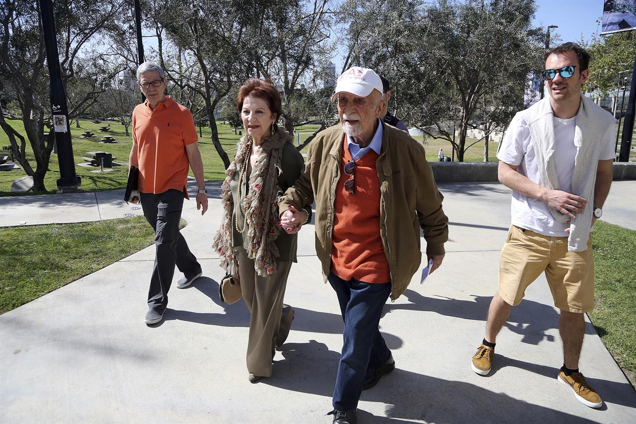 Friends Separated By The Holocaust Reunite In California