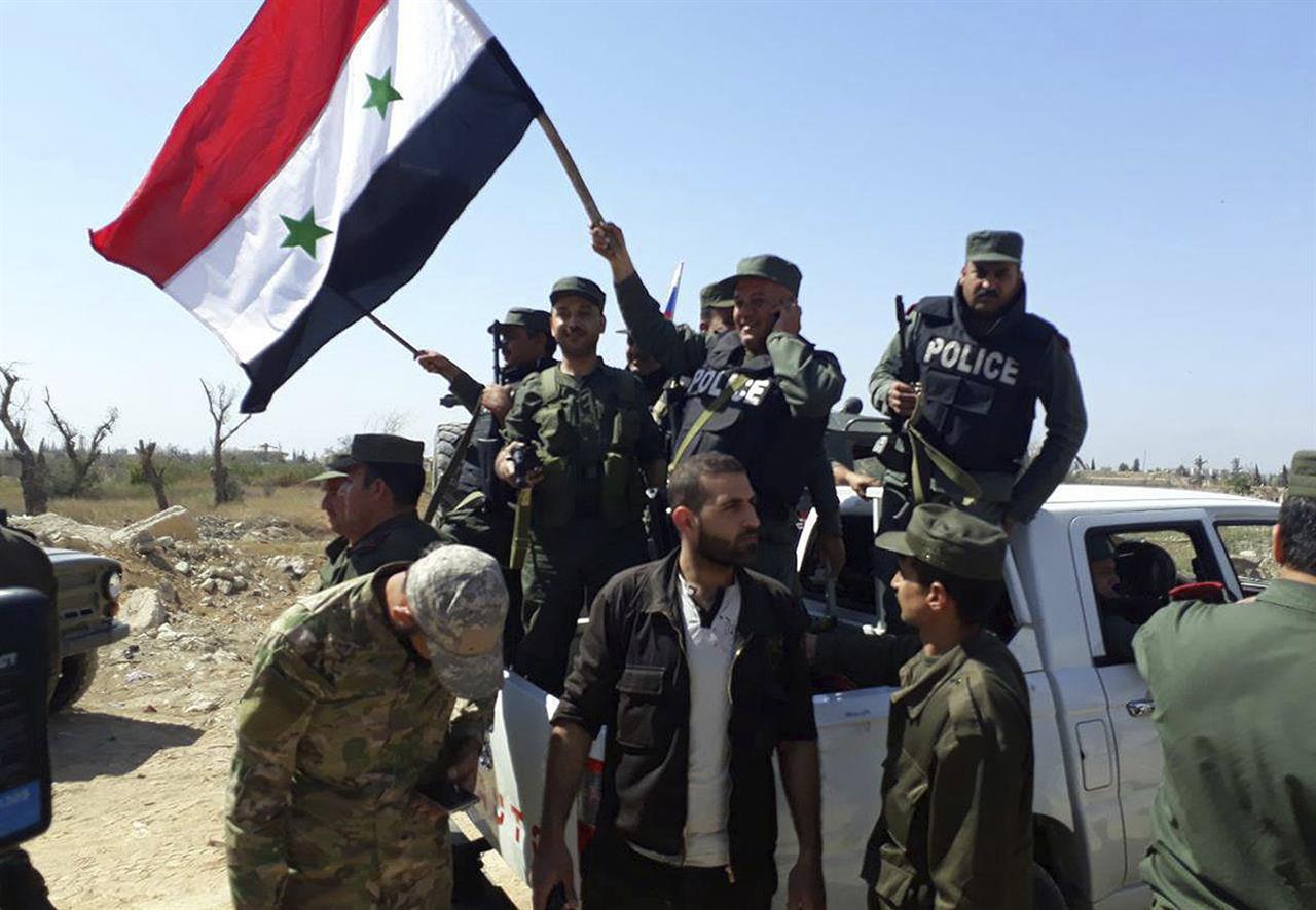 Certain of gas attack, allies struck Syria before UN ...