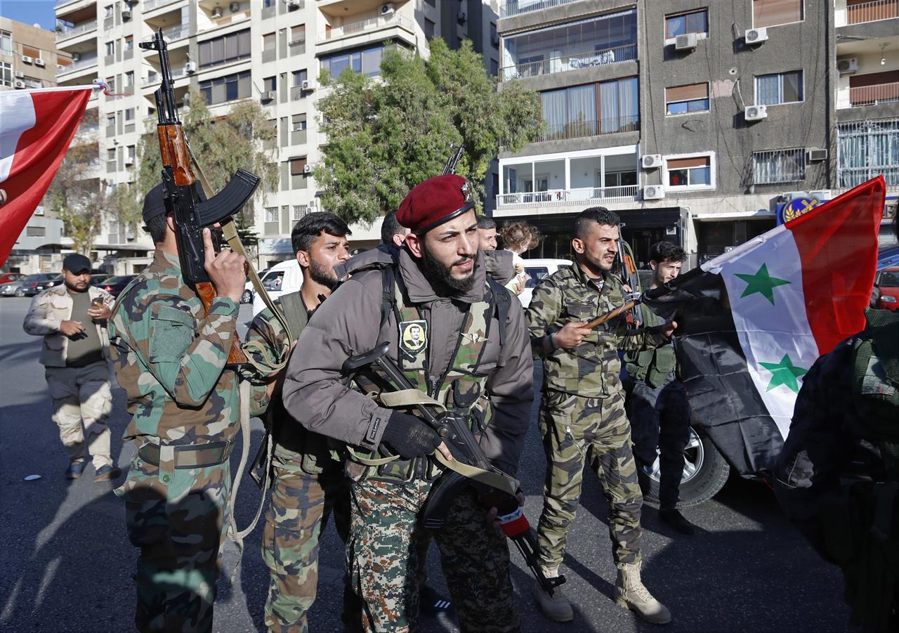 Defiant Syrians say West hasn't shaken their resolve | AM