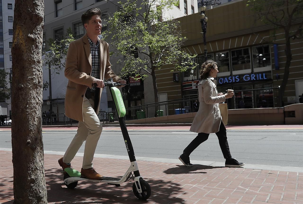 San francisco to require permits for rental scooters am for Motorized wheelchair rental nyc