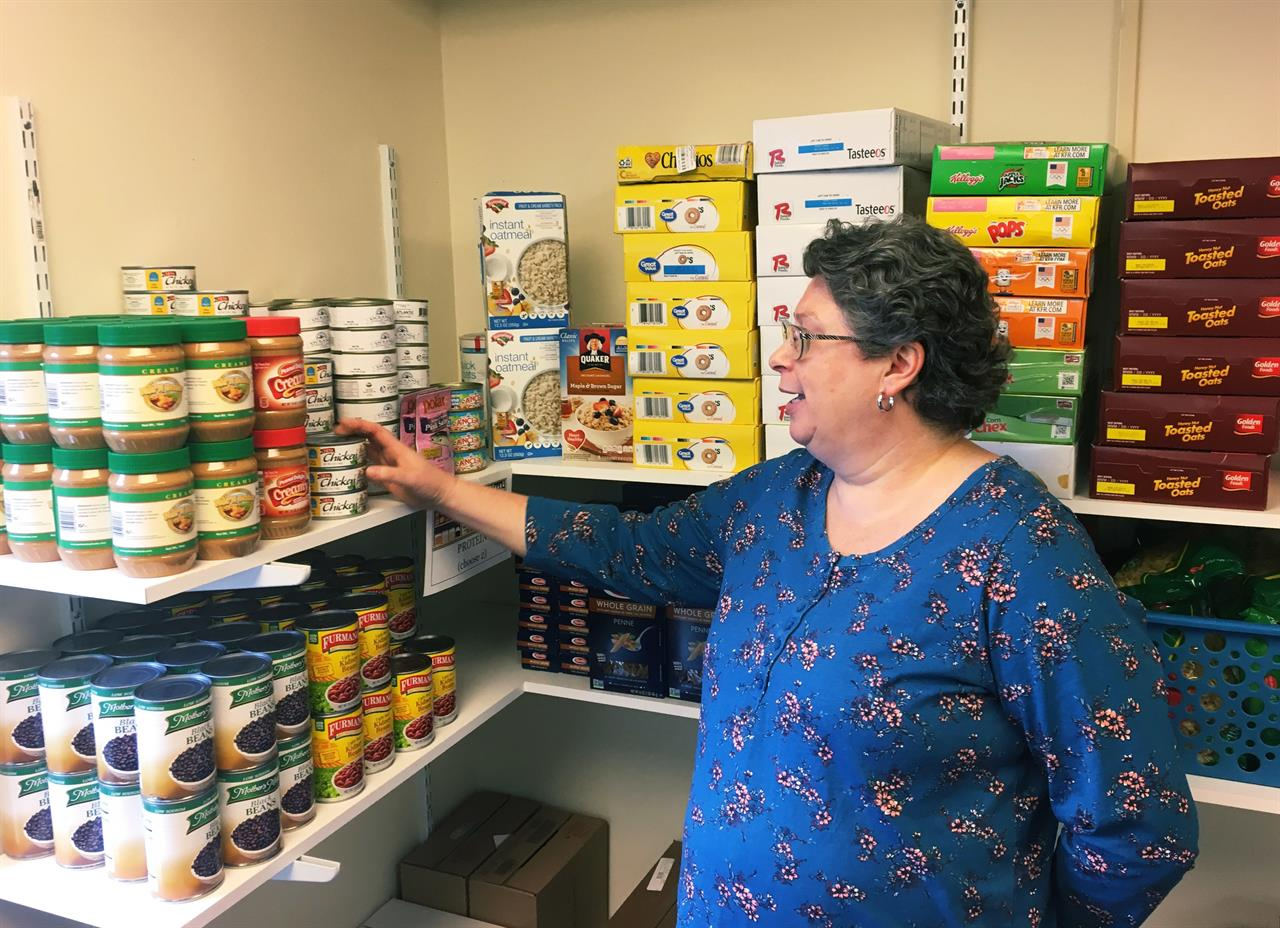 Free food for thought Campus food pantries proliferate Houston TX
