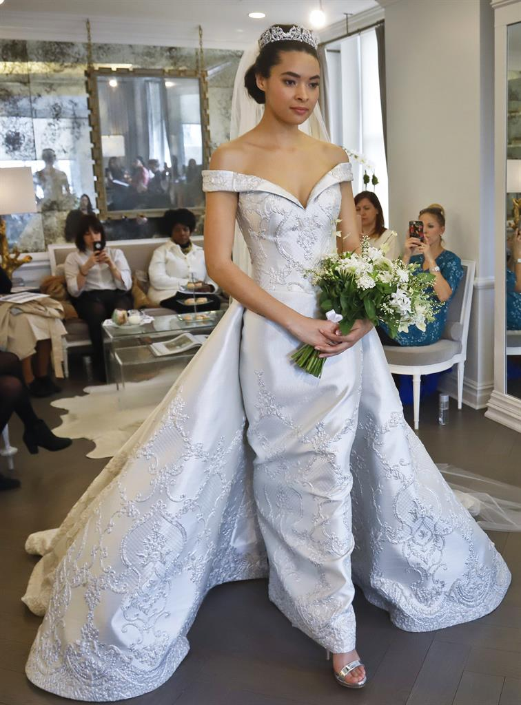 Bridal designers talk princess moments and Meghan Markle - Houston, TX