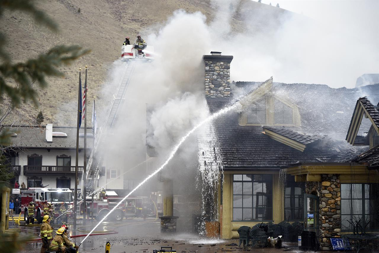 Fire damages lodge at Idaho\'s famed Sun Valley ski resort - Atlanta, GA