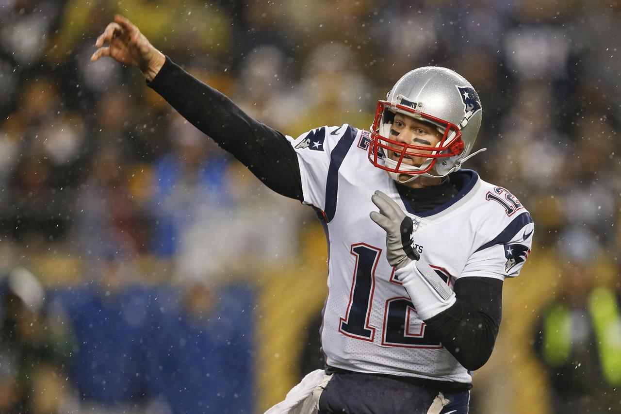 size 40 a0984 7fca7 17, 2017, file photo, New England Patriots quarterback Tom Brady (12) plays  against the Pittsburgh Steelers, in an NFL football game, in Pittsburgh.
