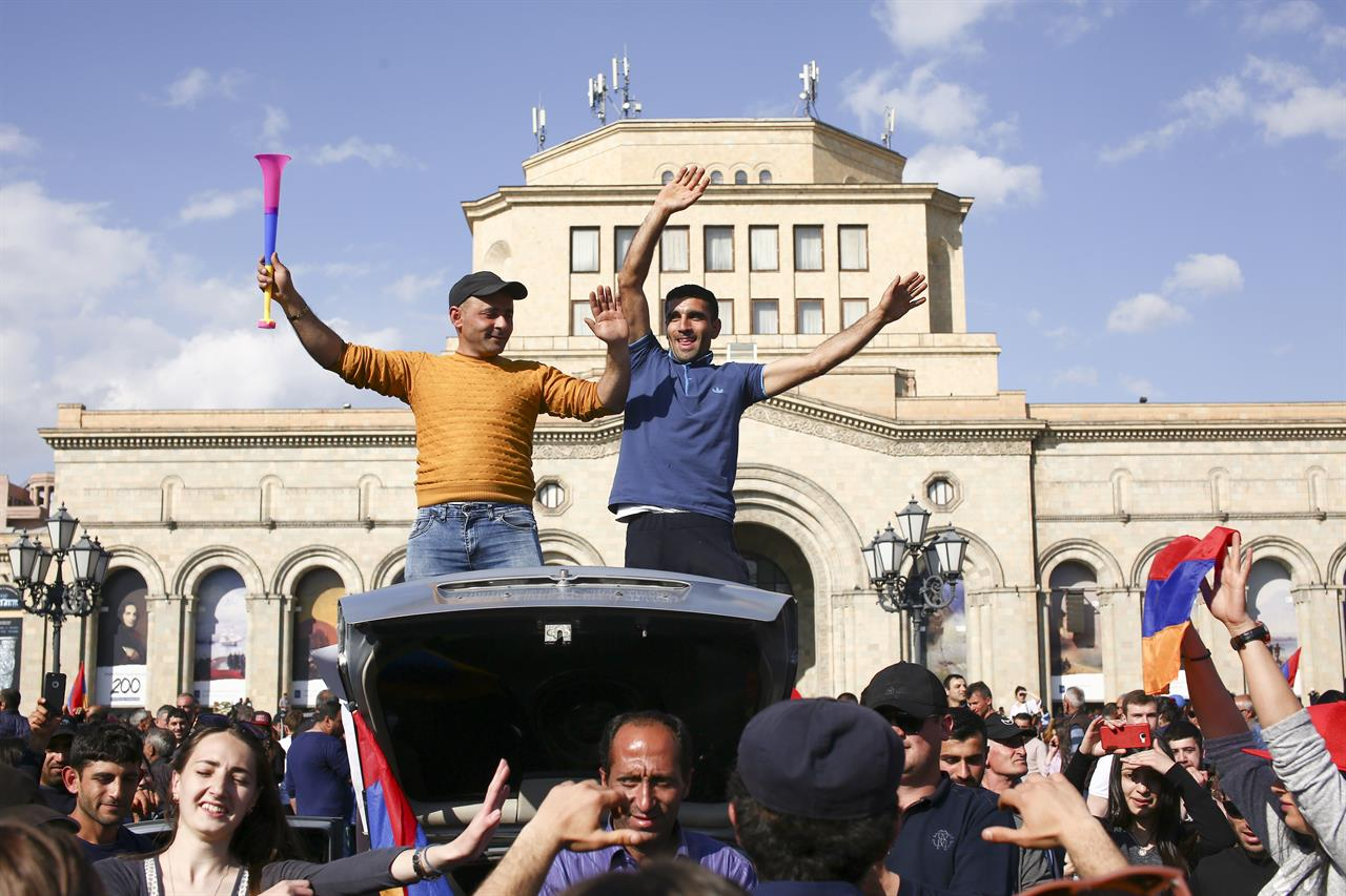 The Latest: Armenia opposition to demand snap election | 710