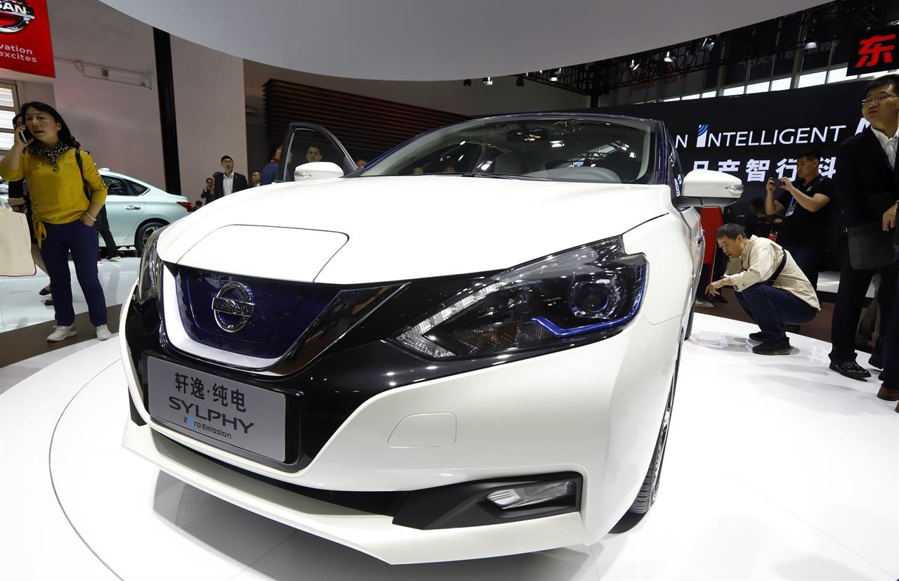 Car Manufacturers Global Sales 2018 Mail: Beijing Auto Show Highlights E-cars Designed For China