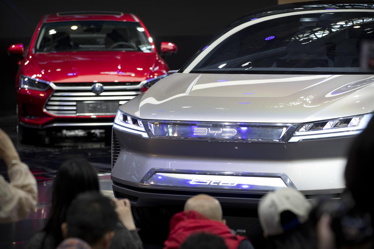 Chinese Automaker Plans Electric Car Production In SAfrica AM - Miami car show 2018