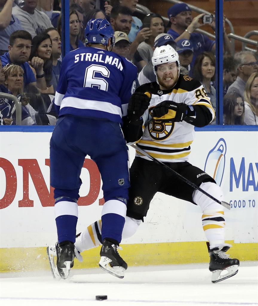 Nash, Bergeron Score Twice, Bruins Beat Lightning In Game