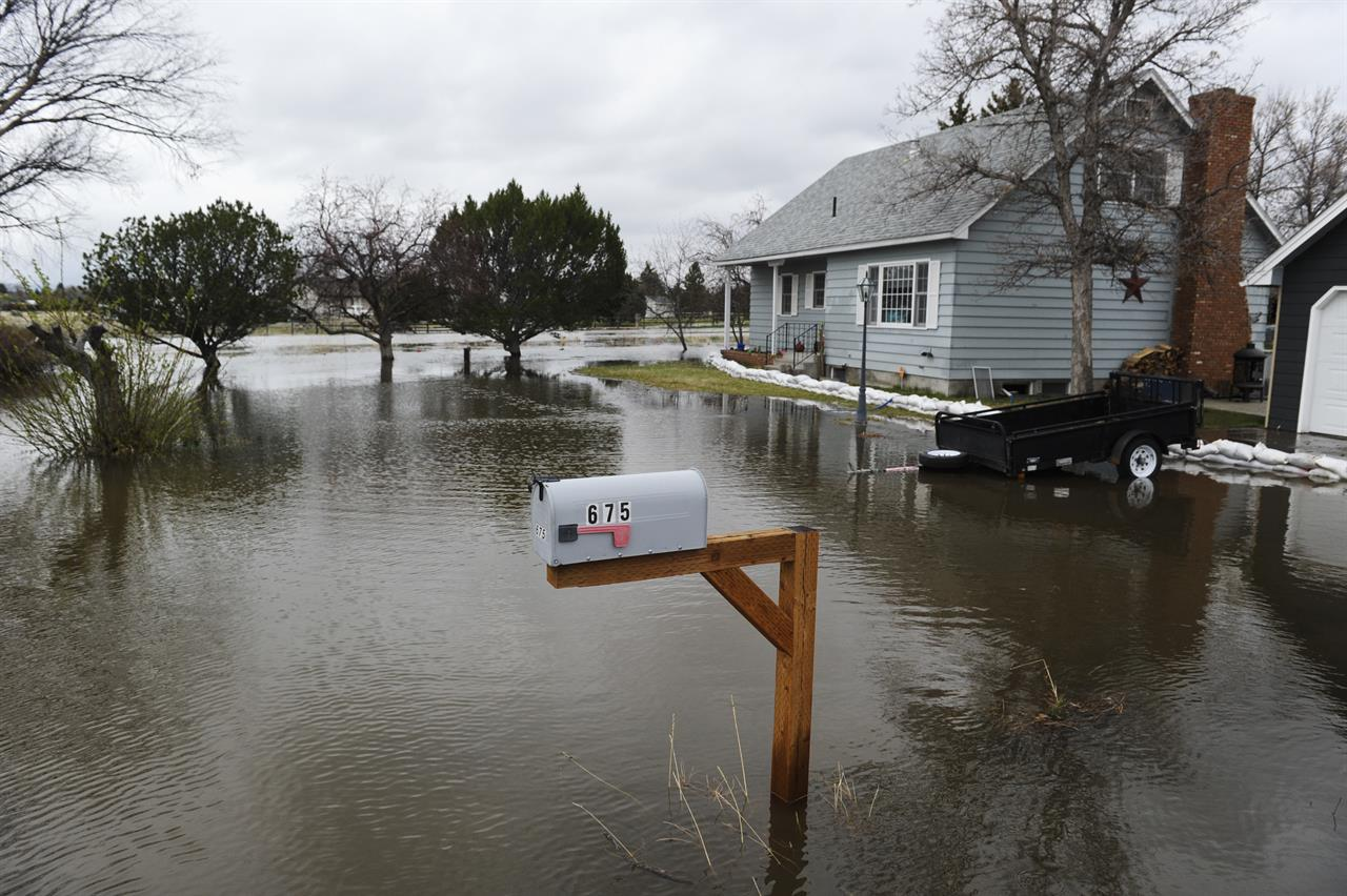 Flooding from snowmelt, rain hits more parts of Montana ...
