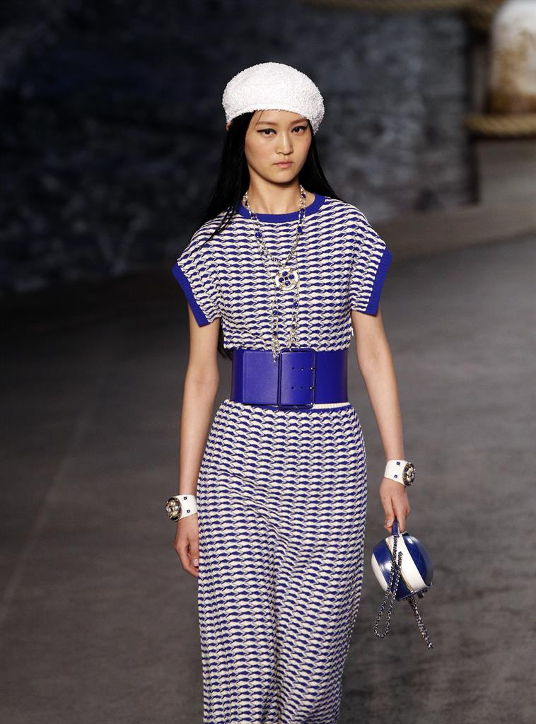Chanel Wows Celebrities With Ship For Cruise Show In Paris 710