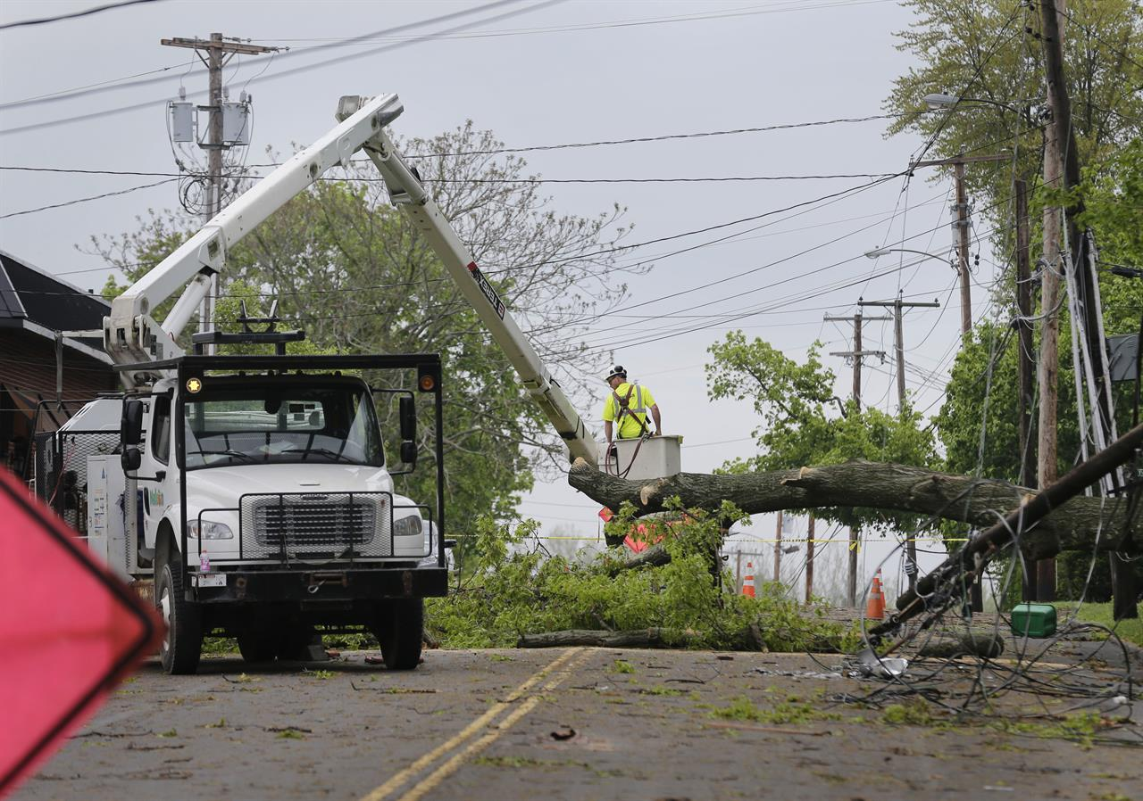 The Latest: 2 tornadoes touch down in Connecticut | The