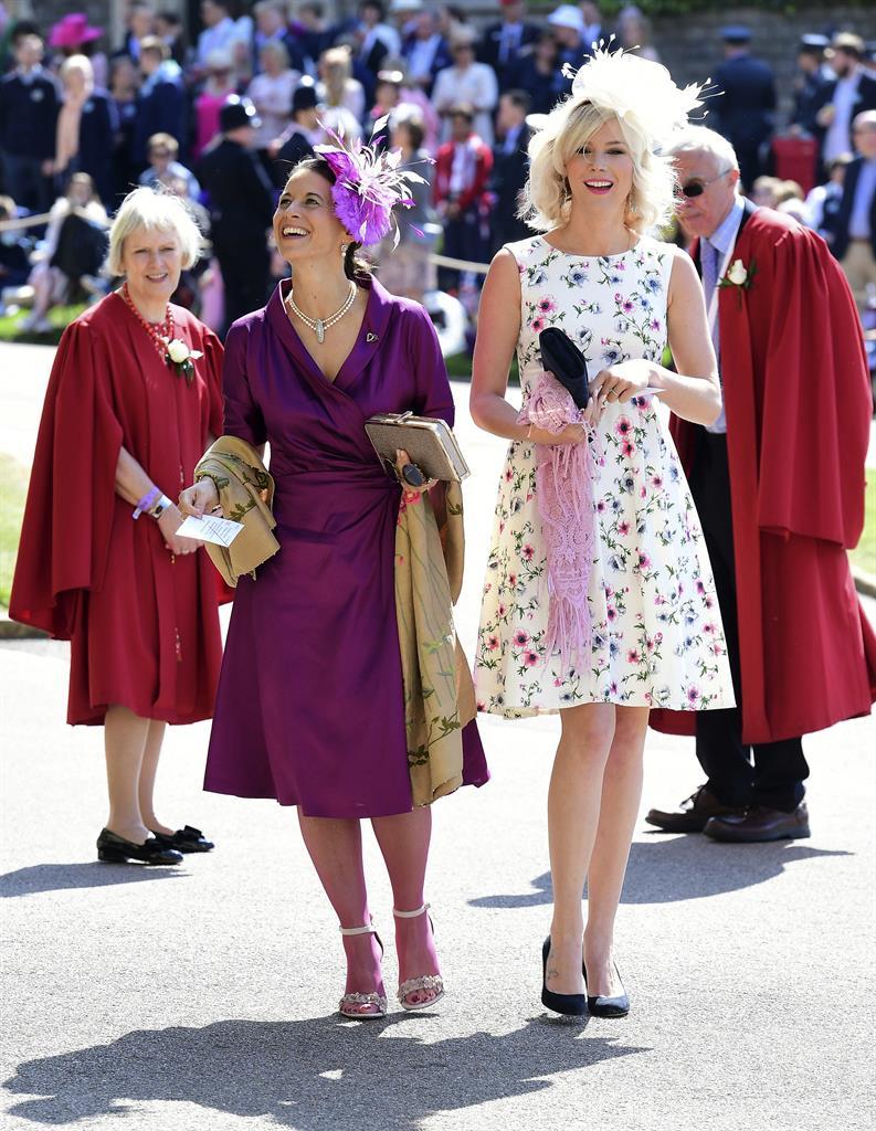Oprah At Prince Harry Wedding.Oprah To Idris Celebrities Spice Up Royal Wedding The Answer 94 5