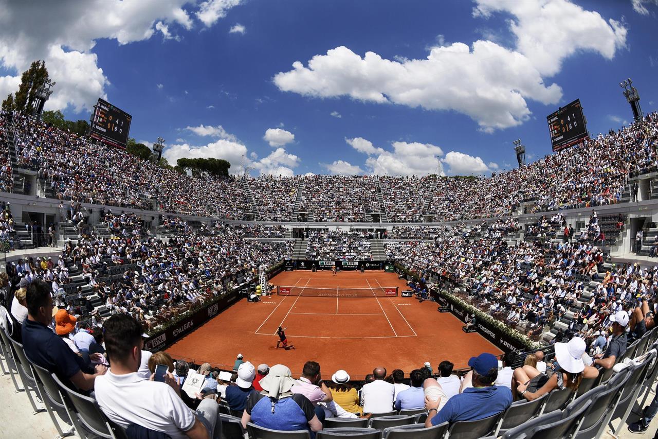 tennis channel pushing Italian Open ...