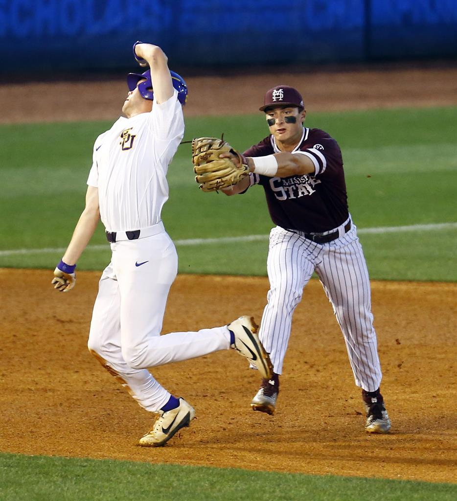 Athletics Tigers Game Suspended In 7th With A S Up 5 3: Duplantis, LSU Rally To Beat Mississippi State, 8-5 In SEC