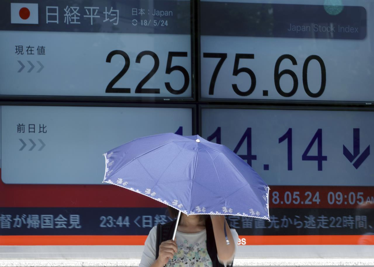 Asian shares mixed after Fed gives Wall Street a boost
