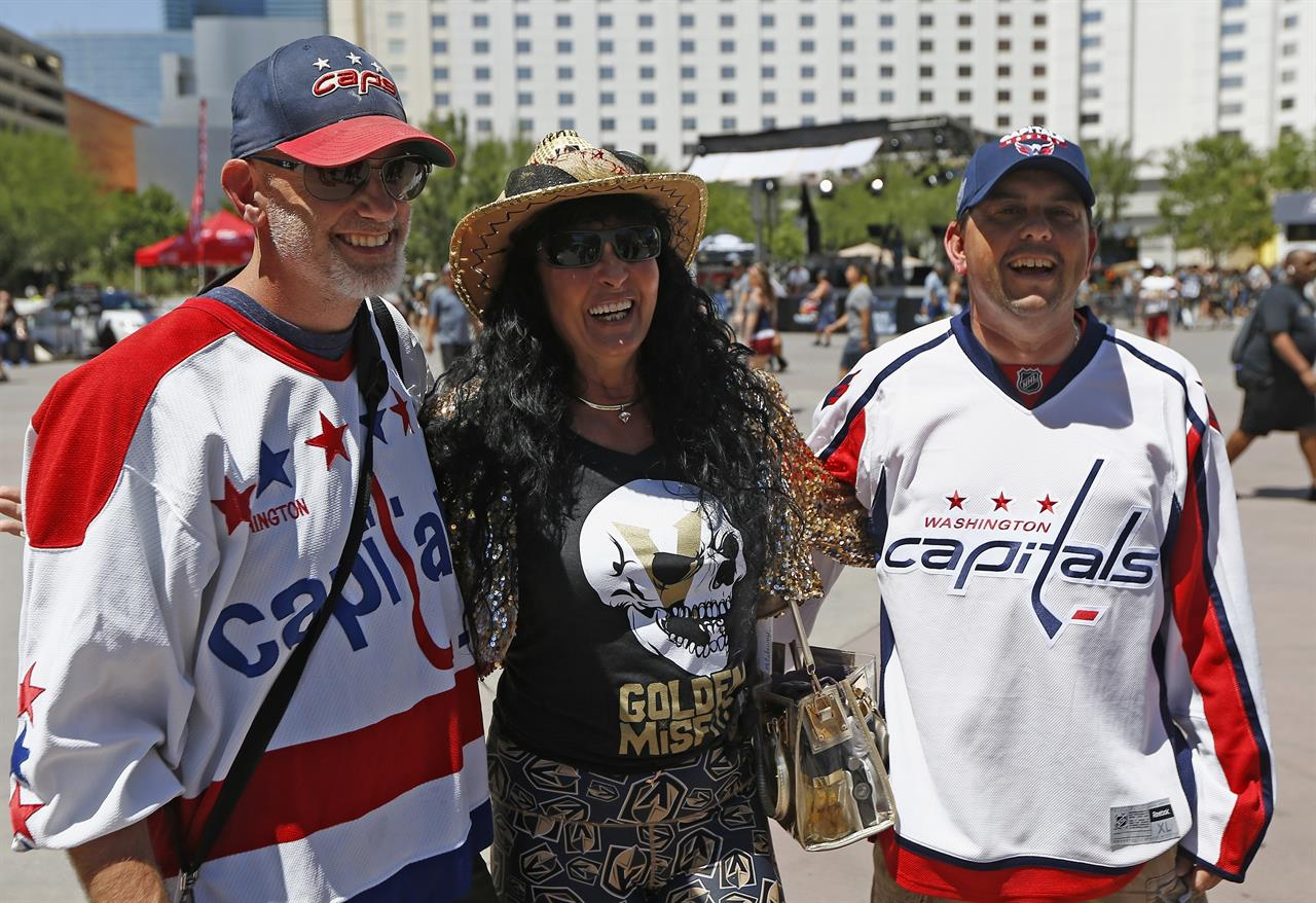 8a5a11cd769 6 of a kind  Golden Knights outlast Caps 6-4 in Final opener. Sports News