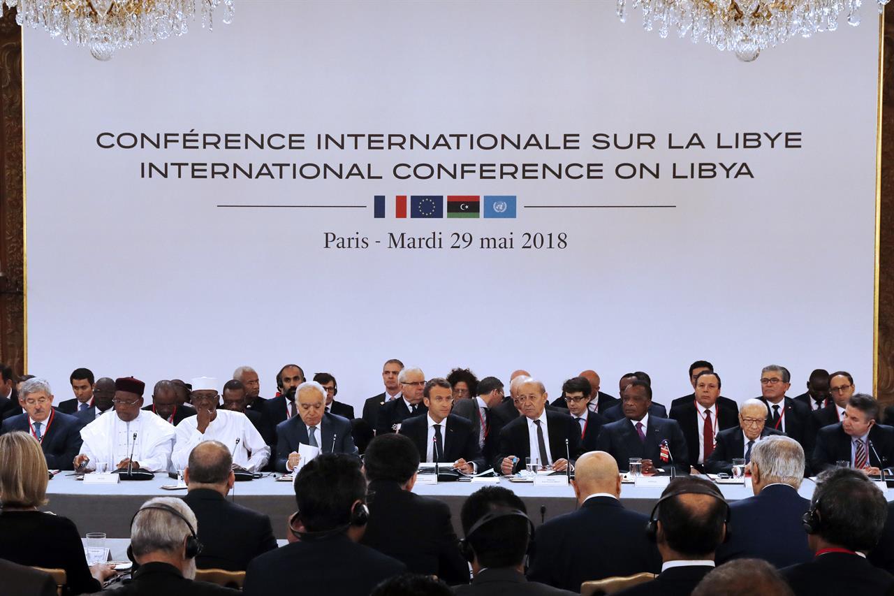 The Latest Frances Macron Lauds Libyan Rivals Agreement 710