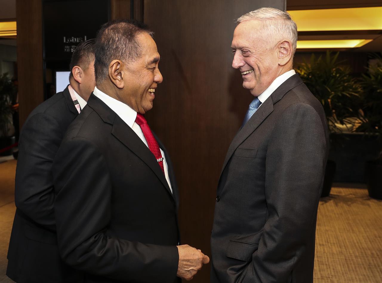 Mattis slams China on South China Sea island weaponization ...