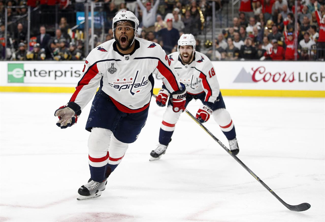 ... The Latest  Washington Capitals win Stanley Cup over Vegas ... 3614ebc28618