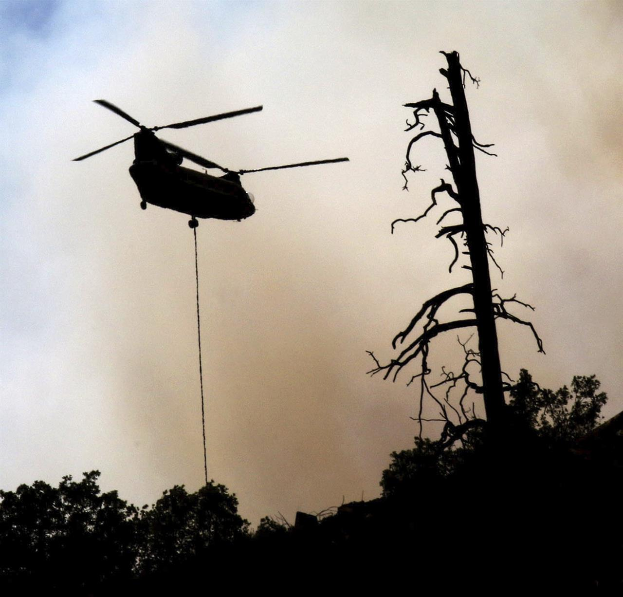 Correction: Western Wildfires Story