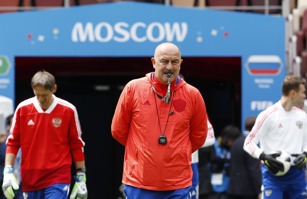 Mustaches, silly songs defuse tensions at Russia's World Cup | The