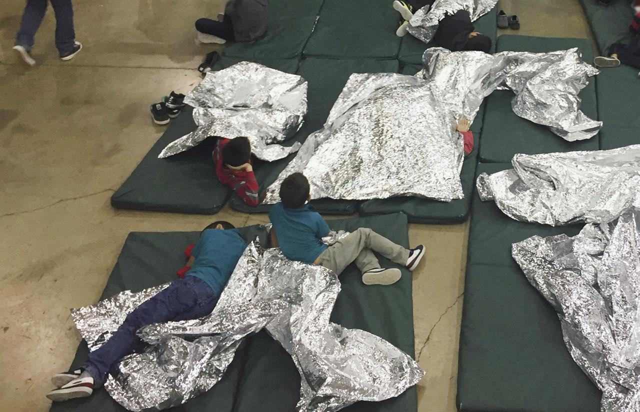 Hundreds Of Children Wait In Border Patrol Facility In