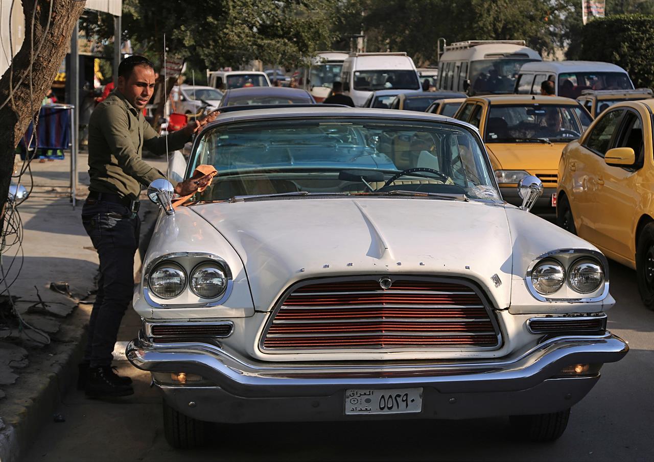 Optimism in Iraq fuels revived interest in classic cars - Sacramento, CA