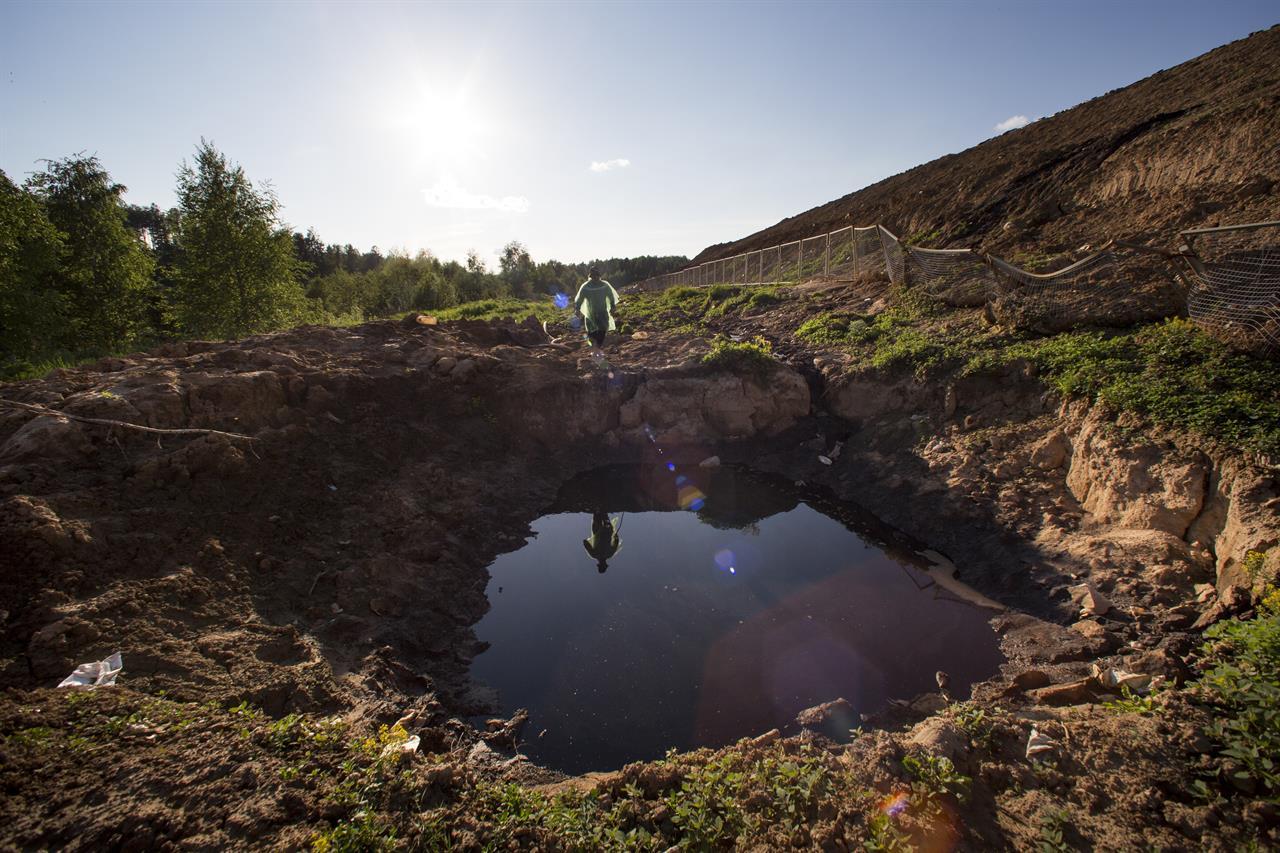 A big stink erupts over landfills ringing Russia's capital