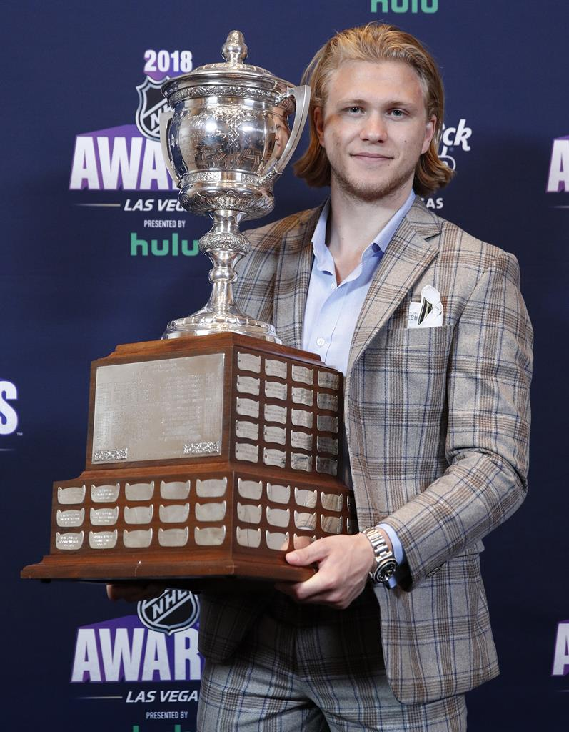 Devils' Taylor Hall edges MacKinnon, wins NHL MVP award ...