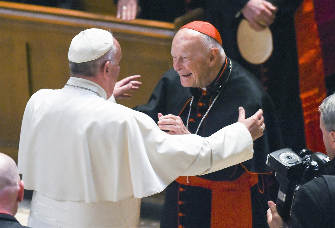 Cardinal Theodore McCarrick punished over abuse finding | AM