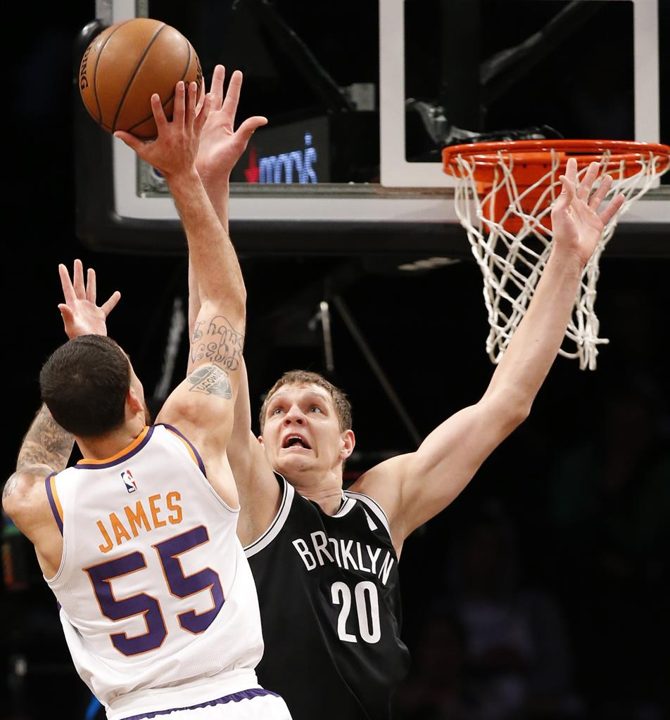 bfc097bb107 AP source  Hornets agree to trade Howard to Nets for Mozgov ...