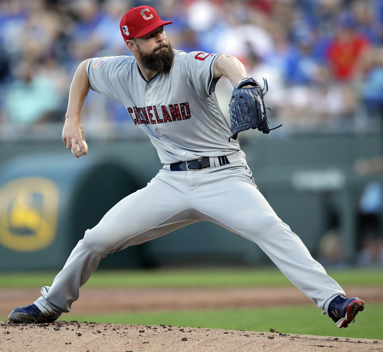 3fba475b61a2 Lindor has 2 HRs, 7 RBIs as Indians beat Royals 9-3   AM 1070 The ...