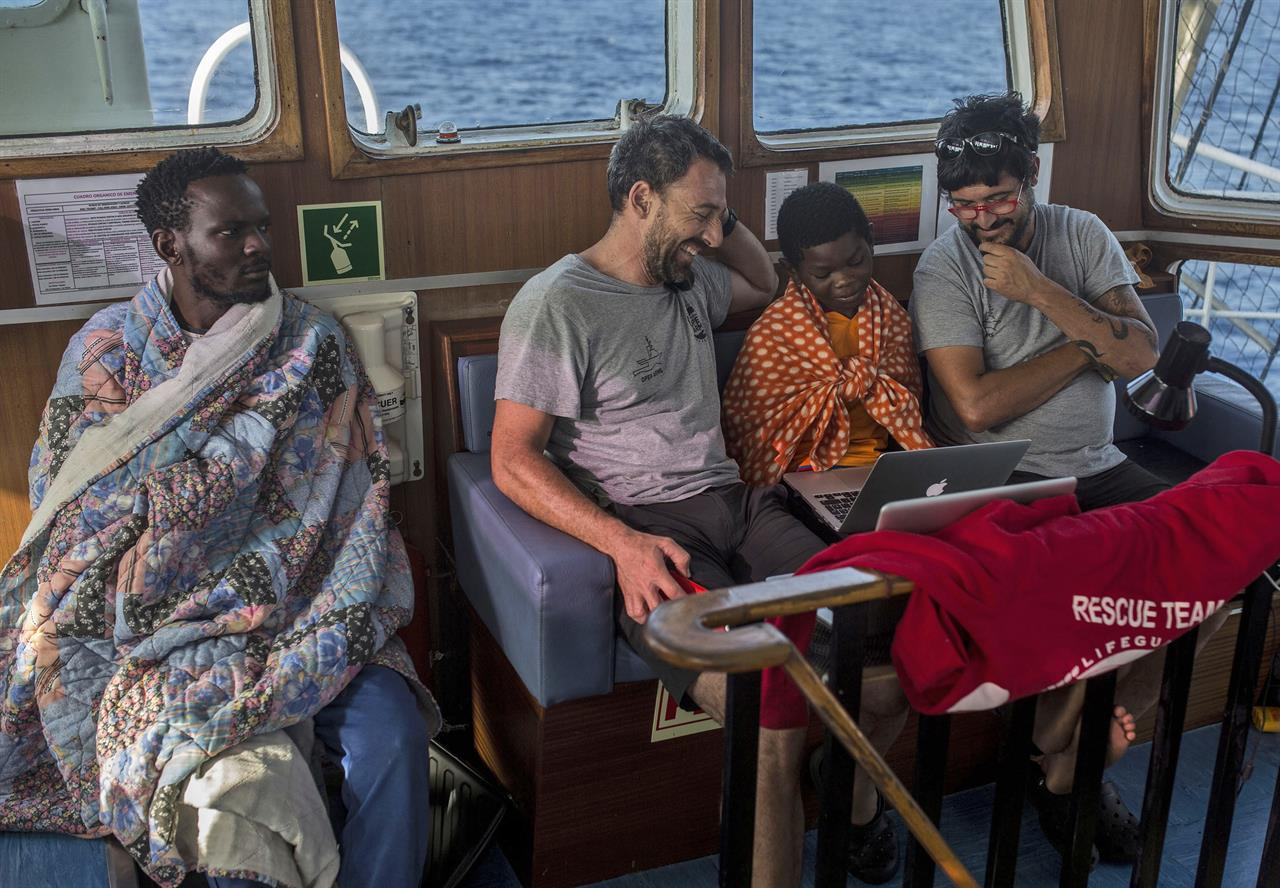 Migrants anxious to start anew in Europe after Libya 'hell