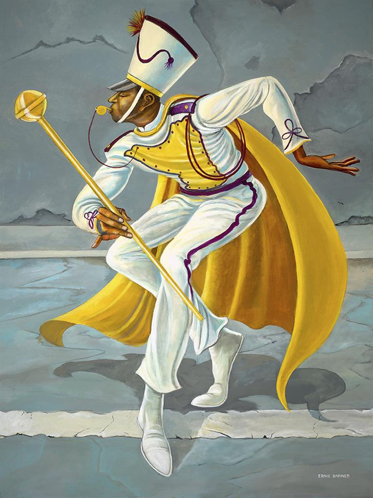 Exhibit Features Ernie Barnes Football Player Turned