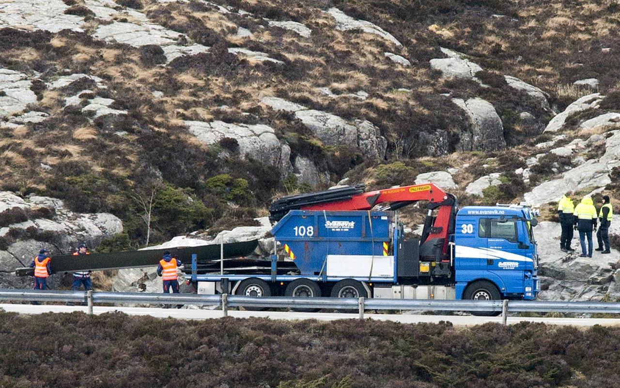 Norwegian probe: Gearbox failure cause fatal 2016 crash