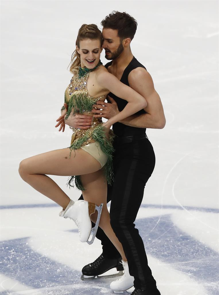 ice dancers from france