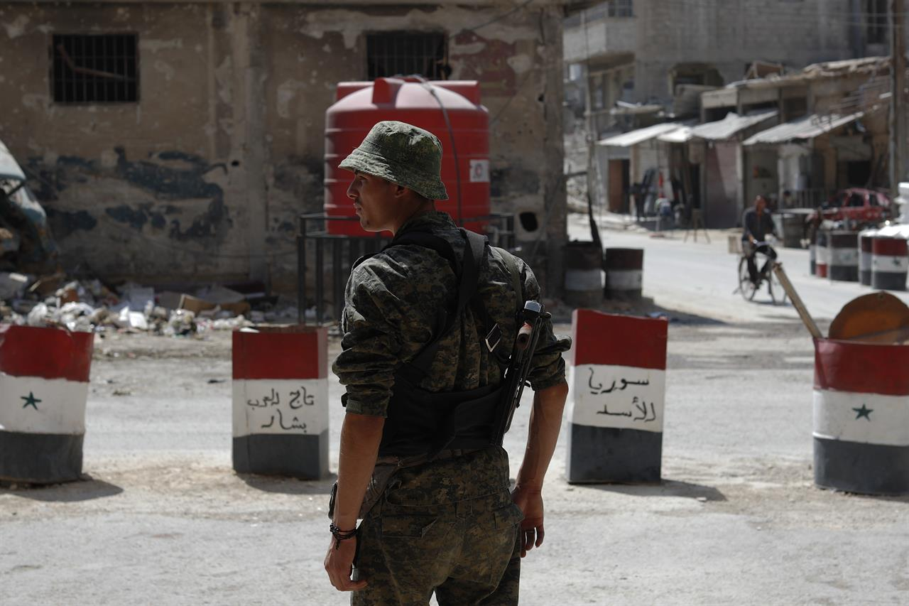 Syrian government, rebels clash over recon base near Israel | The