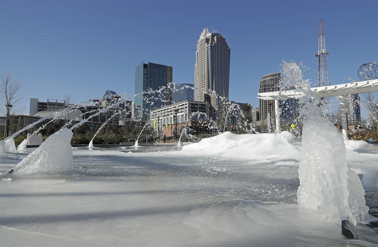 bitter cold tests winter wise delivers shock to south atlanta ga