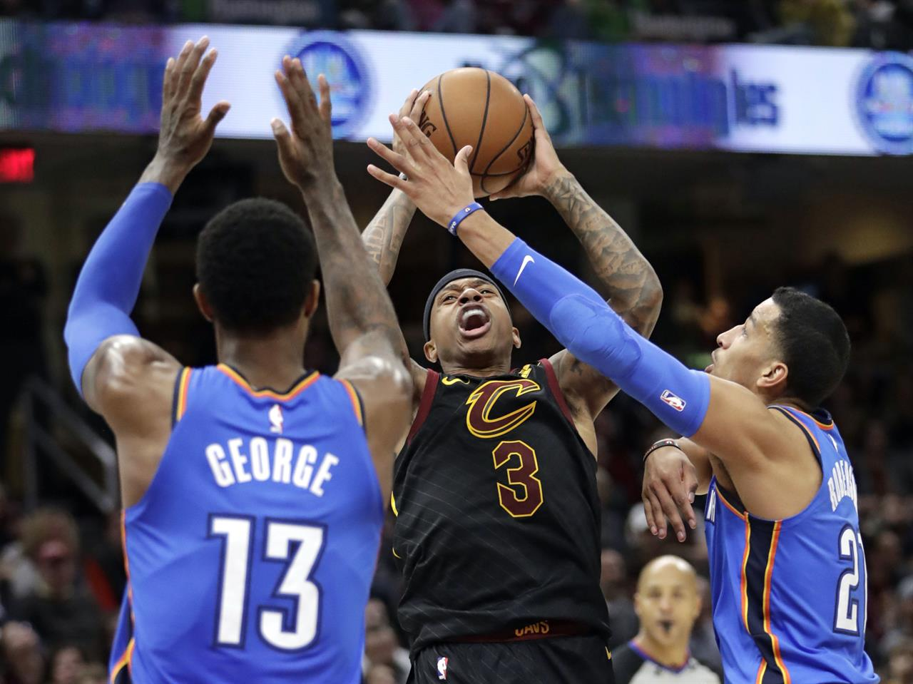 Thunder thump Cavs 148-124, keep LeBron shy of 30,000 points | The